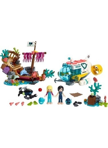 Lego Lego Friends Yunus Kurtarma Görevi 41378 Renkli